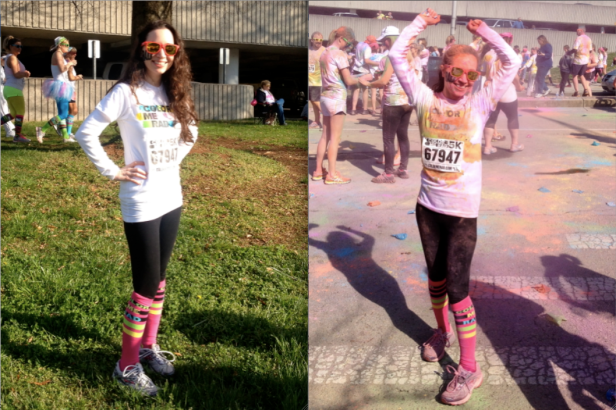 Color Me Rad Before & After