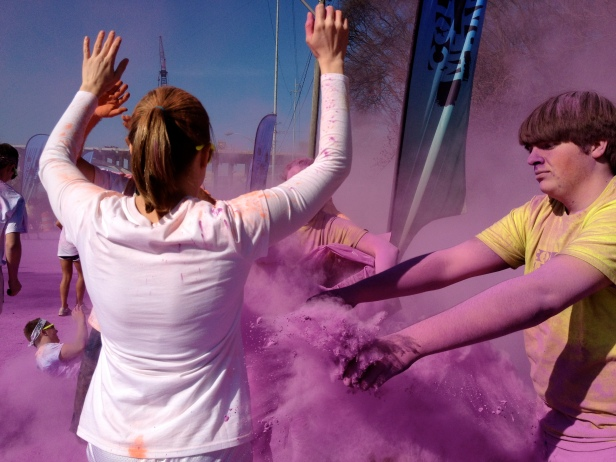 Color Me Rad Color Station