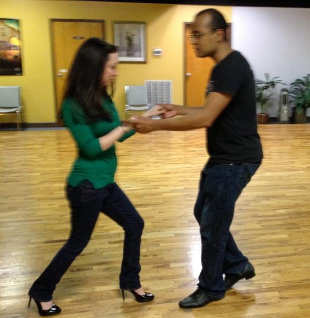 Salsa Basic Step