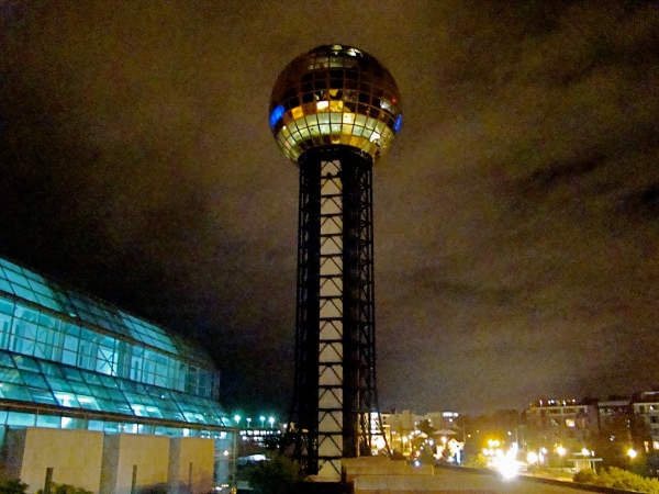 Sunsphere at Night
