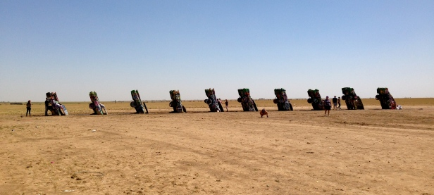 Cadillac Ranch Full View