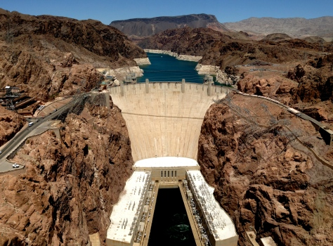 Hoover Dam Panorama View
