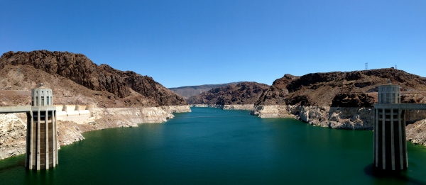 Lake View from Hoover Dam