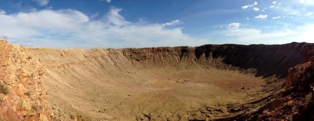 Meteor Crater Panorama 1