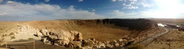 Meteor Crater Panorama 2