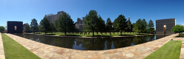 Oklahoma City Bombing Memorial Panorama