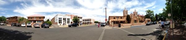 Old Town Albuquerque Panoram