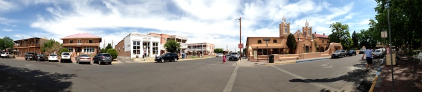 Old Town Albuquerque Panoram