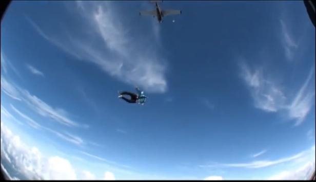 Plane Above