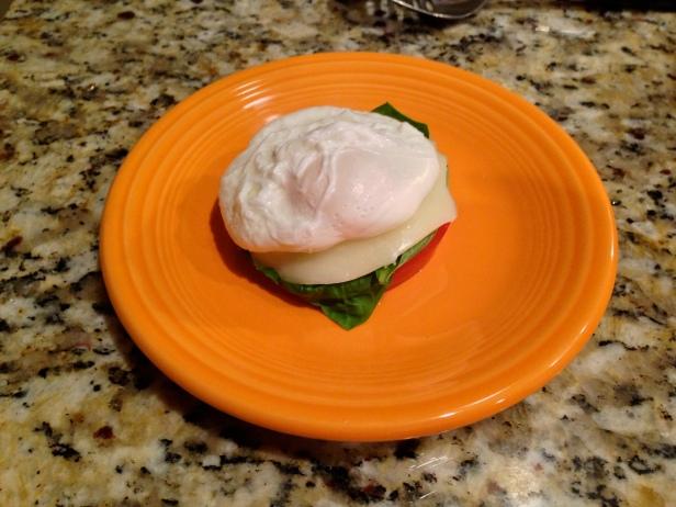 Eggs Benedict Caprese