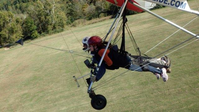 Hang Glide Plane Launch