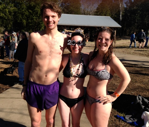 After Polar Bear Plunge