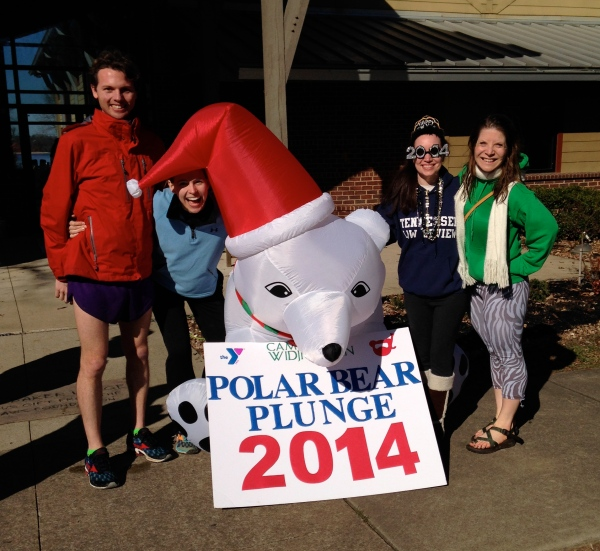 Polar Bear Plunge Group Photo