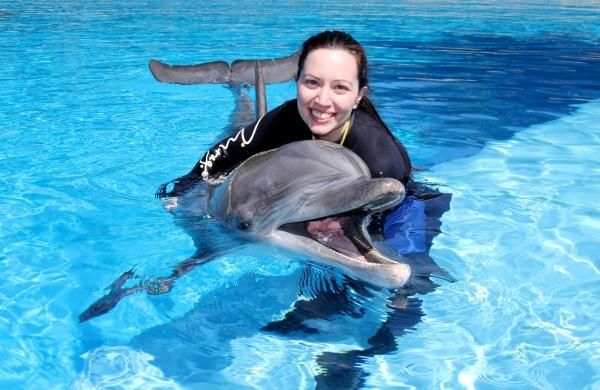 Dolphin Hug