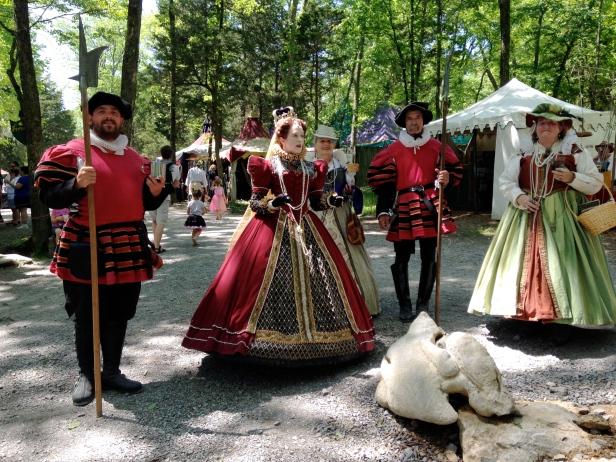Renaissance Festival Queen
