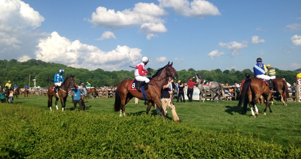 Steeplechase Horse Parade