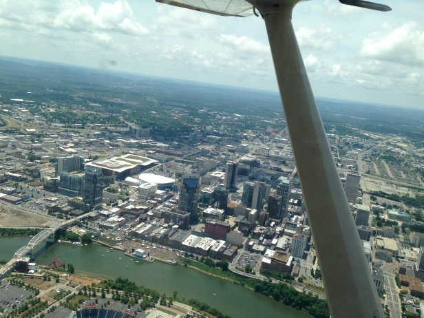 Aerial view of Nashville 2