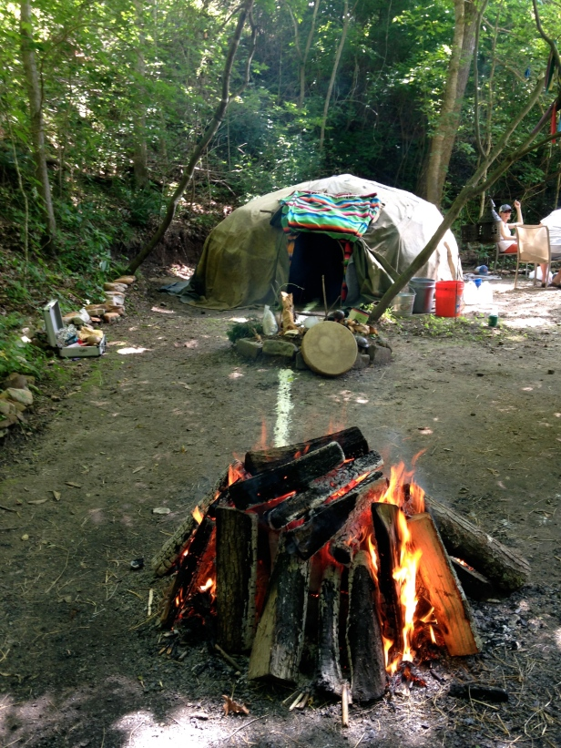 Sweat Lodge Fire