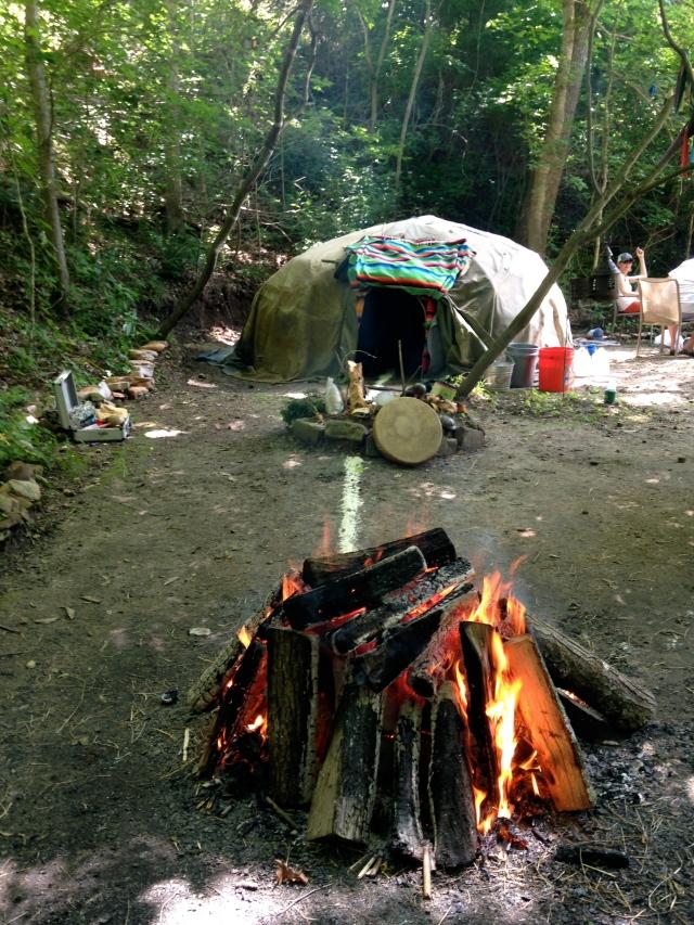 Sweat Lodge Fire