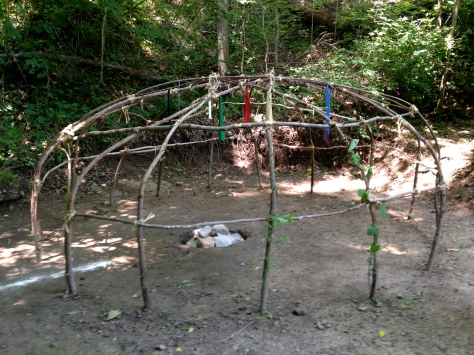 Sweat Lodge Structure