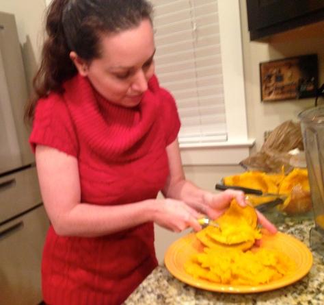 Cooked Pumpkin