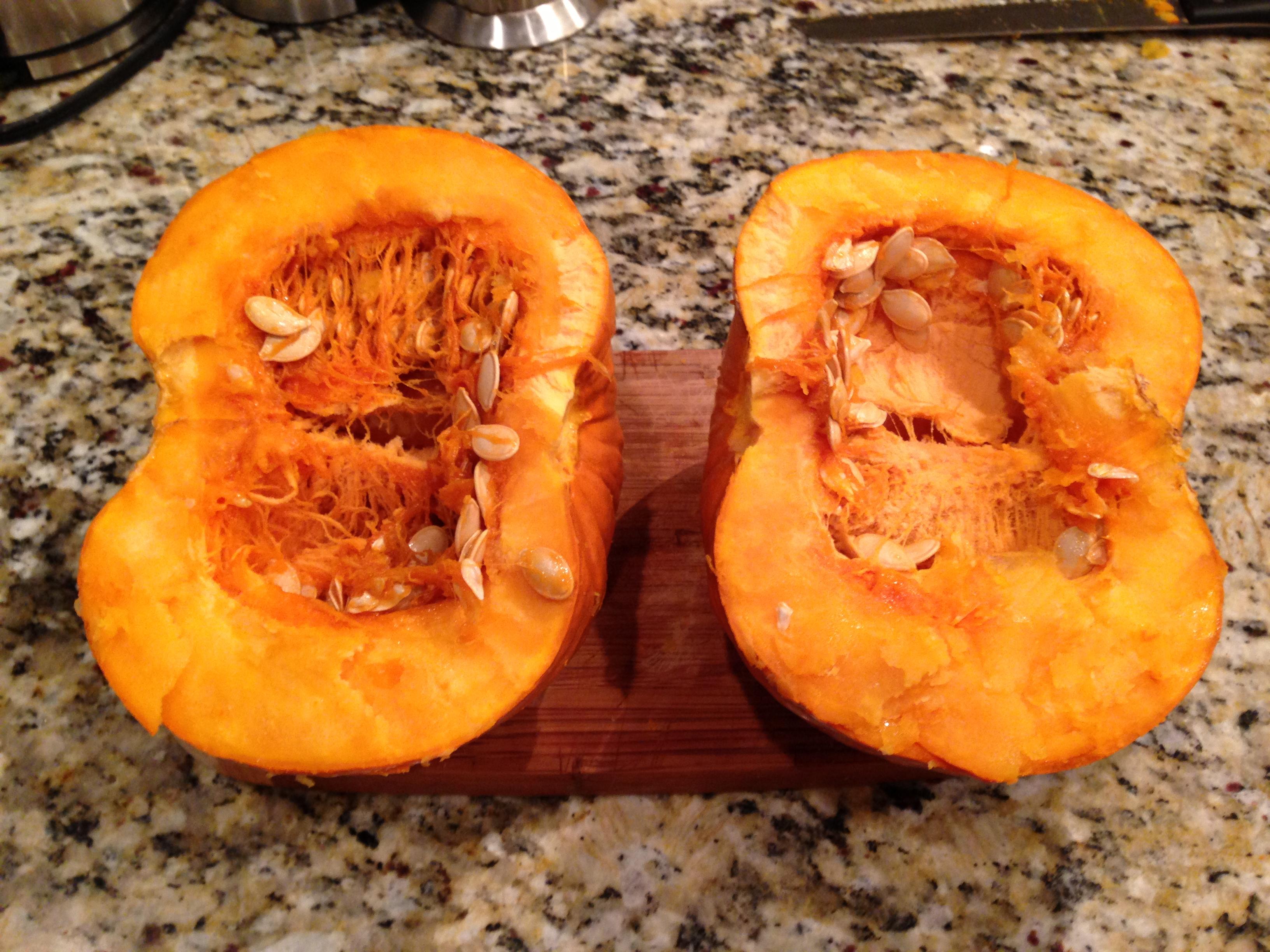 how to make soup inside a pumpkin