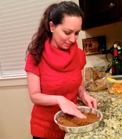 Making Pumpkin Pie Crust