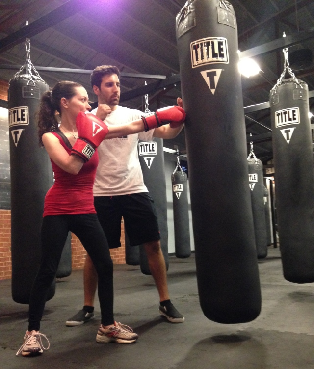 Boxing Lesson