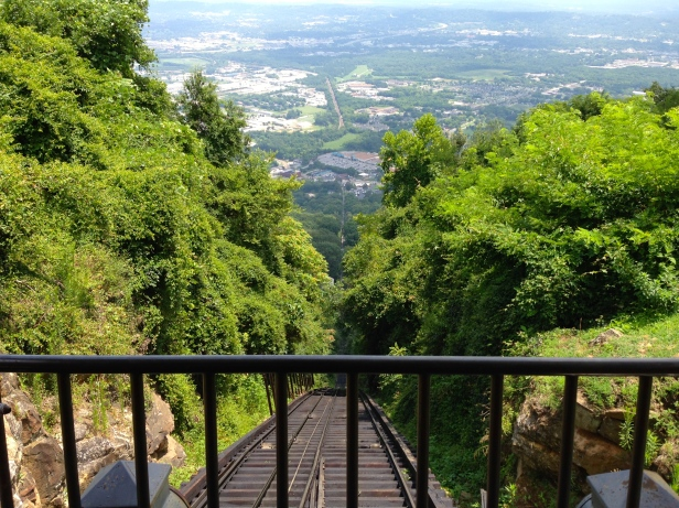 Lookout Mountain Incline Look Down