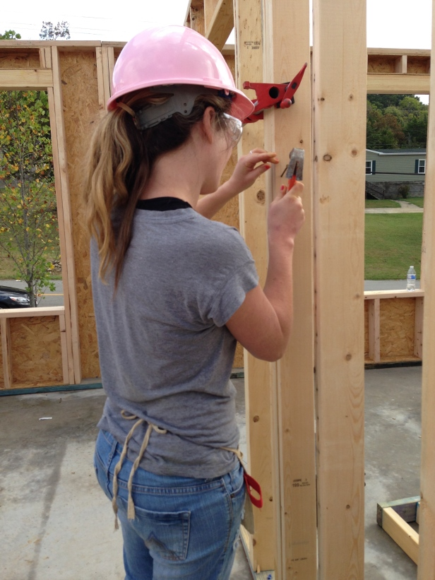 Habitat for Humanity Hammering