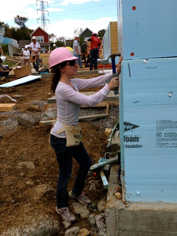 Habitat for Humanity Insulation Installation