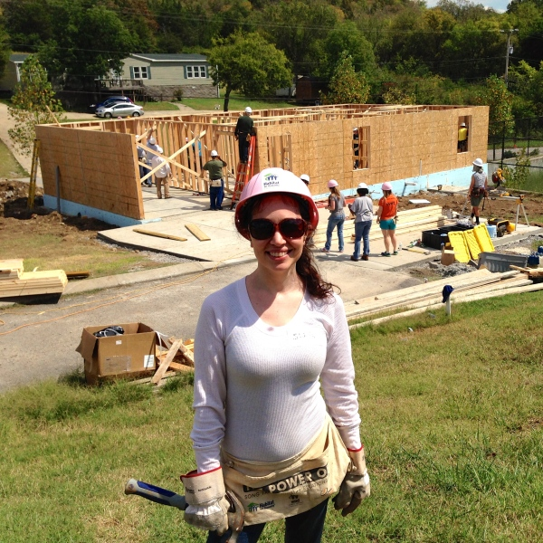 Habitat for Humanity Pose 2