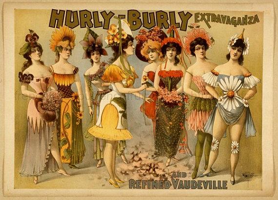 Vintage Burlesque Costumes