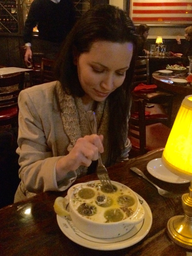 Eating Escargot