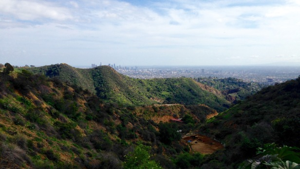 Holly Ridge Trail view of Los Angeles