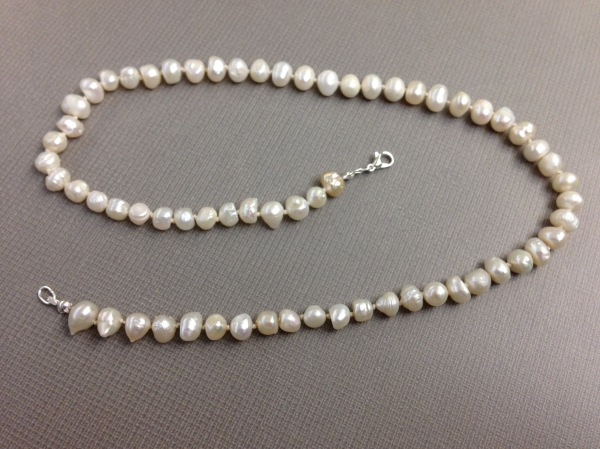 Homemade Pearl Necklace