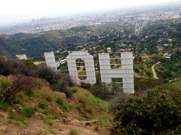 Trail Behind Hollywood Sign