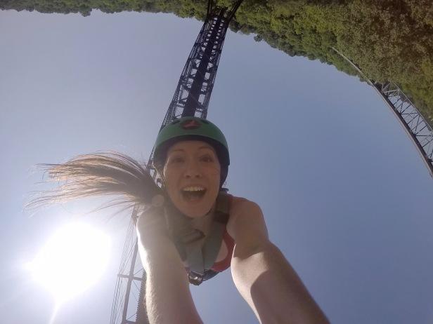 Bungee Jumping Selfie