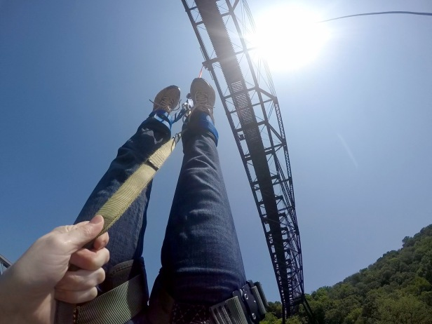 Bungee Jumping Upside Down