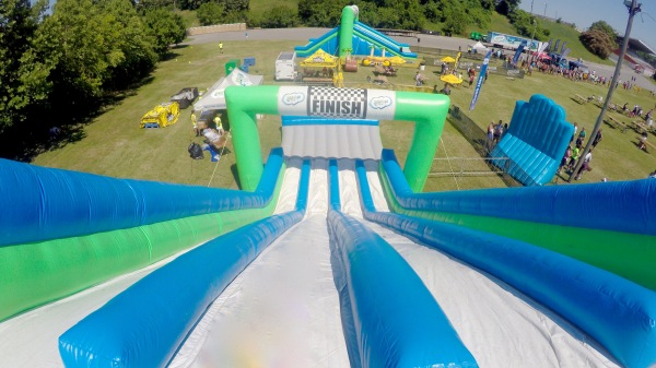 Inflatable 5K Finish