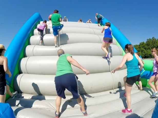 Inflatable 5K Slingshot Climb