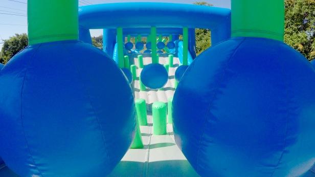Inflatable 5K Wrecking Balls