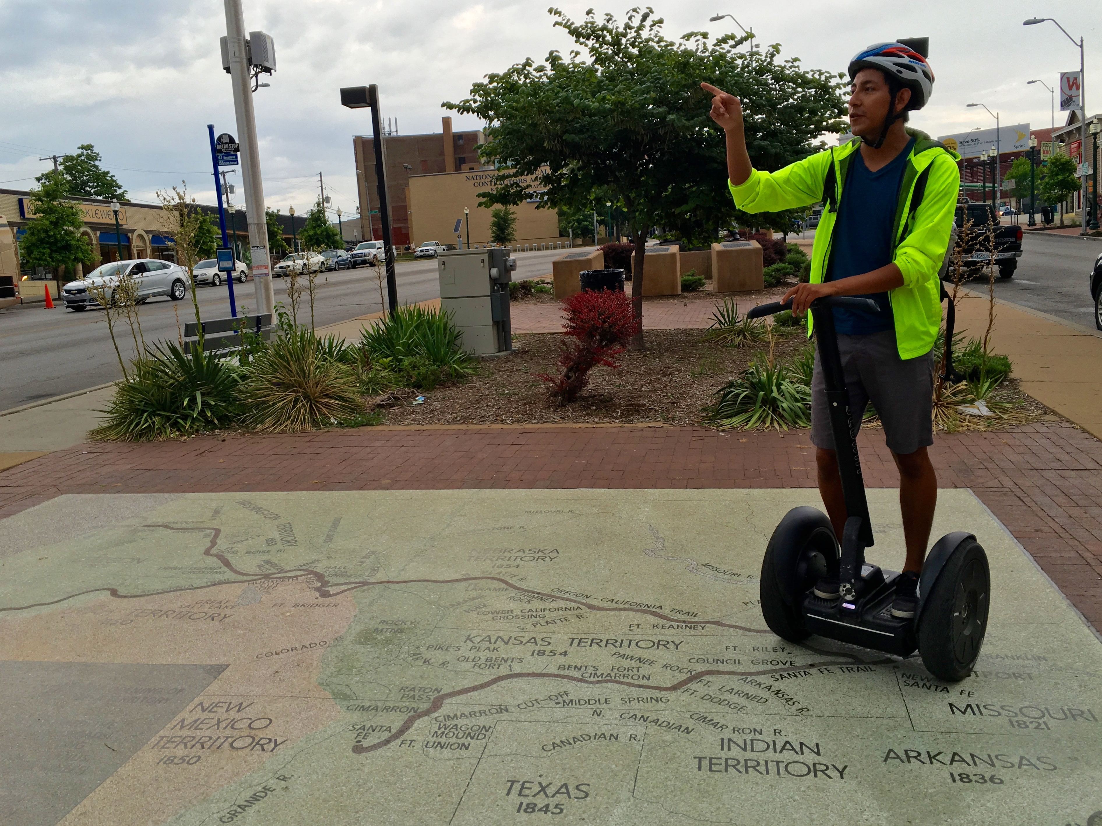 Learn about the sights and stories of Kansas City on this hour Segway tour of the Country Club Plaza area. Comfortably glide through the streets on a Segway while your guide points out important landmarks and sites of interest that tell the tale of this eclectic city.5/5(3).