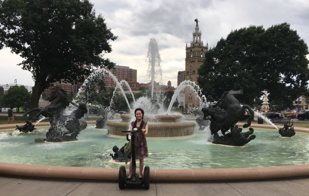 Segway Fountain