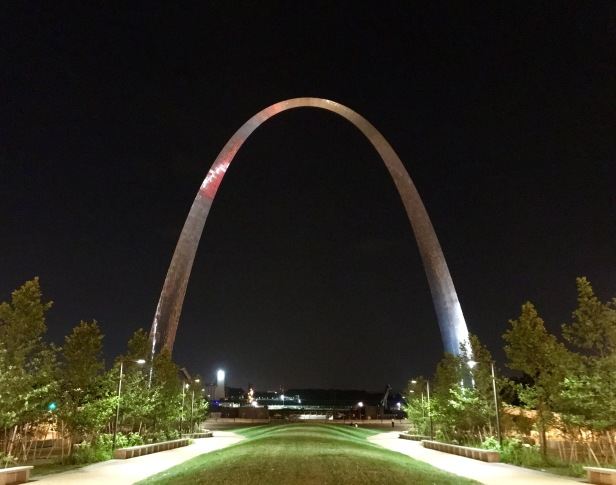 St Louis Arch Night
