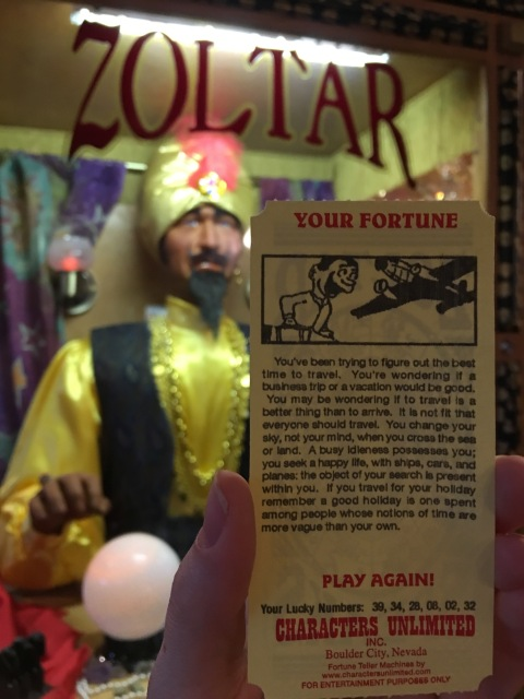 Zoltar Fortune