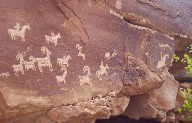 Arches Petroglyphs