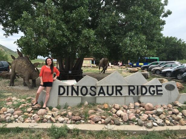 Dinosaur Ridge SIgn