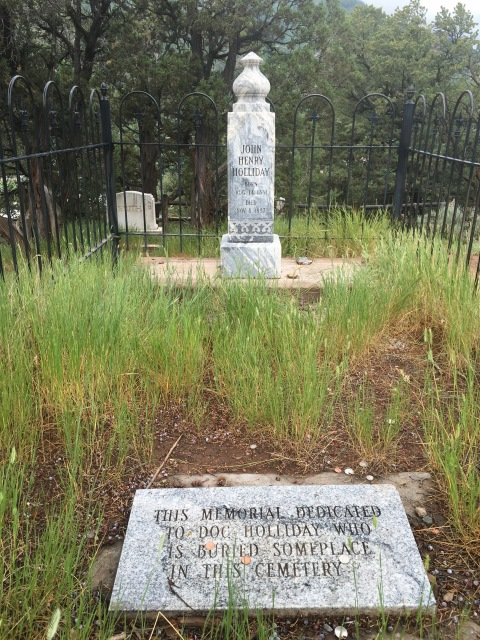 Doc Holiday Gravesite