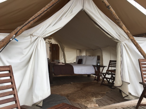 Moab Under Canvas Delux Tent